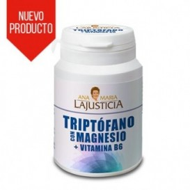 Lajusticia Triptofano Con Magnesio + Vit B6 60 comp
