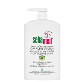 Sebamed Emulsion sin jabon con Aceite de Oliva 200ml