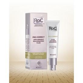 Roc pro correct fluido antiarrugas rejuvenecedora 40ml