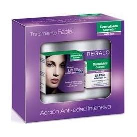 Dermatoline Lift Effect Tratamiento Facial: Antiarrugas Noche 50ml + Antiarrugas Día 15ml REGALO
