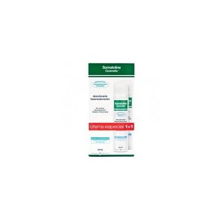 Somatoline desodorante hipersudoracion duplo Spray 125+125ml
