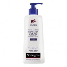 Neutrogena locion hidratacion profunda piel seca 400 ml