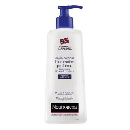 Neutrogena locion hidratacion profunda piel seca 750 ml