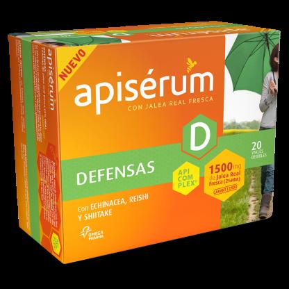 Apiserum Defensas 1500mg 20 viales