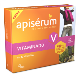 Apiserum Vitaminado 30cáps