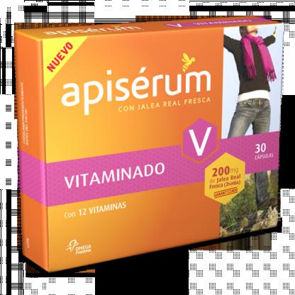 Apiserum Vitaminado 30cáps