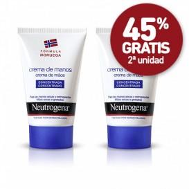 Neutrogena crema de manos Duplo 50 ml+50ml