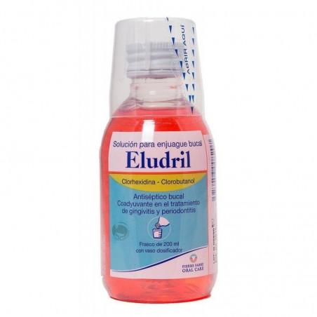 Eludril solución enjuague bucal clorhexidina 200ml