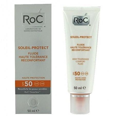 Roc sol protect fluido alta tolerancia spf 50+ 50ml