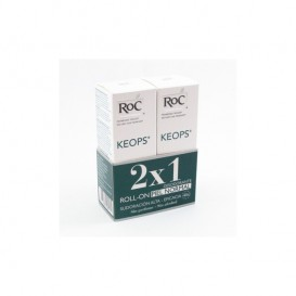 Roc keops duplo desodorante roll on sin alcohol 30ml