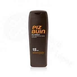 Piz buin locion allergy fps 15 proteccion media 200ml
