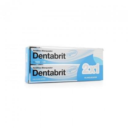 Dentabrit Dentífrico Blanqueador 2 x 125ml