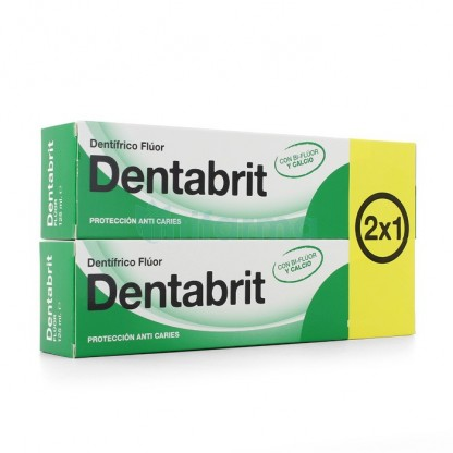 Dentabrit Bifluor y Calcio 125ml Duplo