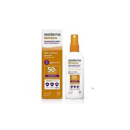 Sesderma Repaskin Transparent Spray Spf 50 200 ml