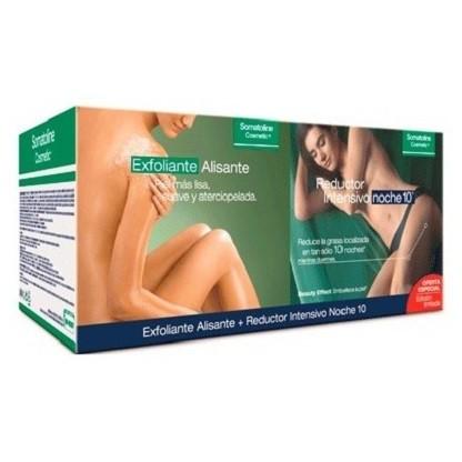 Somatoline Tratamiento Exfoliante Alisante 600g + Reductor Intensivo Noche 10 noches 450g