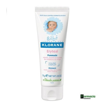 Klorane Bebe Eryteal Pomada 75 ml