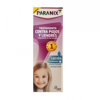 Paranix Locion 100ml + Lendrera