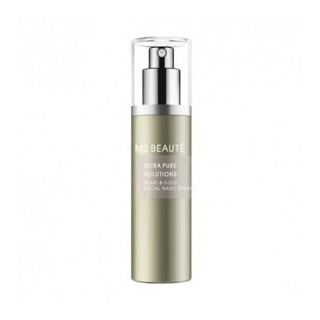 M2 Beaute Ultra Pure Solutions Facial Nano Spray Pearl & Gold