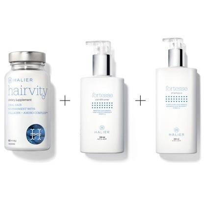 Colección Fortive + Hairvity hombre