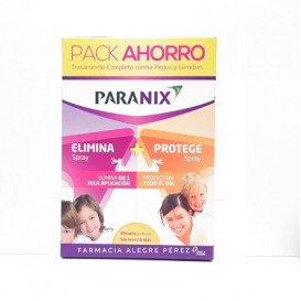 Paranix Pack Elimina Spray 100ml + Protege Spray 100ml