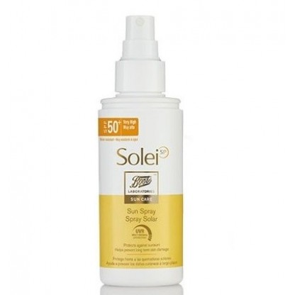Boots Solei spf 50+ Spray Solar 150ml