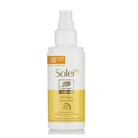 Boots Solei spf 50+ Spray Solar 150ml