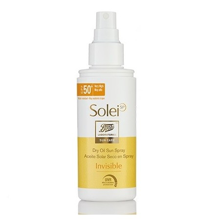 Boots Solei Aceite Seco Spray spf50 150ml