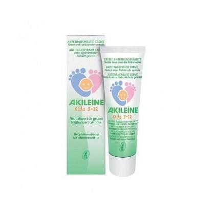 Akileine Kids crema anti transpirante niños 50ml