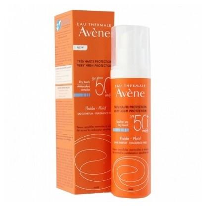 Avene Emulsion Sin Perfume SPF 50+ 50ml