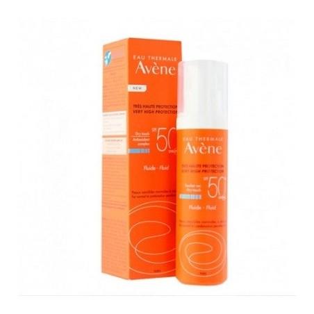 Avene Emulsion Con Perfume SPF 50+ 50ml