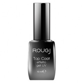 Rougj Nail Top Coat Efecto Uv Gel 10ml