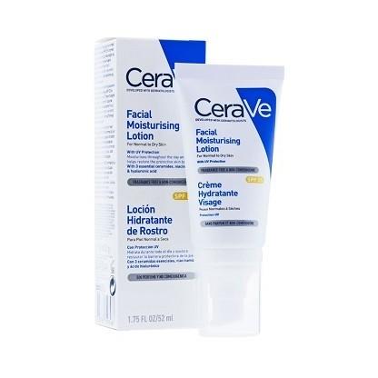 CeraVe Locion Hidratante de rostro spf25 52ml