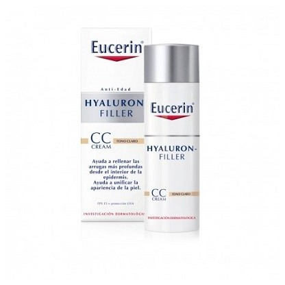Eucerin Hyaluron Filler CC Cream Tono Claro 50ml