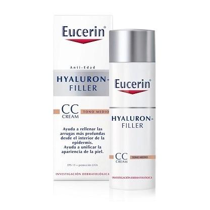 Eucerin Hyaluron Filler CC Cream Tono Medio 50 ml