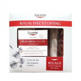 Eucerin Pack Hyaluron-Filler Volume Lift + Contorno de ojos