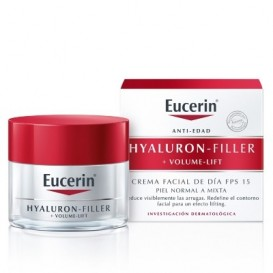 Eucerin Hyaluron-Filler +Volume-Lift Día Piel Normal Mixta 50ml
