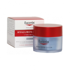 Eucerin Hyaluron-Filler +Volume-Lift Noche farmaciabarahona 50ml