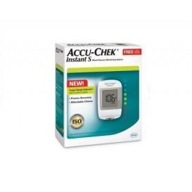 Accu Chek Instant S Medidor Glucosa + Pinch