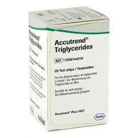 Accutrend trigliceridos 25 tiras