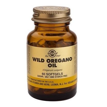 Solgar Aceite de Orégano silvestre 60 Cápsulas blandas