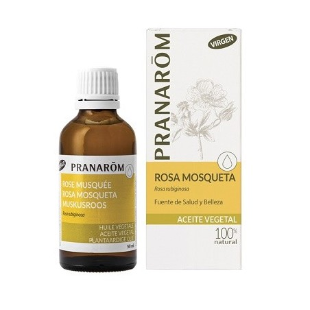 Pranarôm aceite vegetal rosa mosqueta Bio 50ml