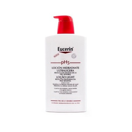 Eucerin Locion hidratante Ultraligera  pH5 1000ml