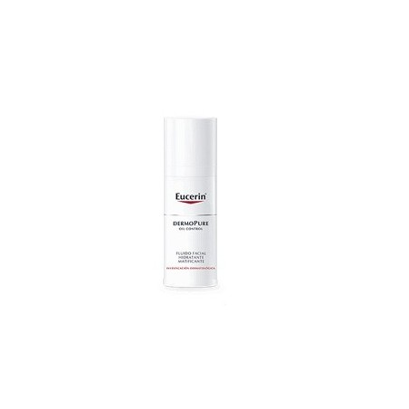 Eucerin DermoPure Fluido Facial Hidratante Matificante 50ml