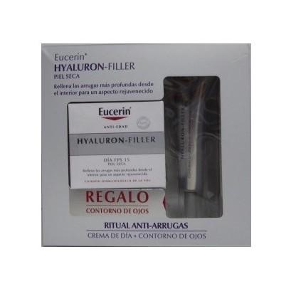 Eucerin Pack Hyaluron-Filler Ps + Contorno de ojos