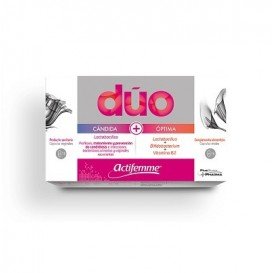 Actifemme Duo Candida Vaginal + Optima Oral 10 Com