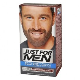 Just For Men gel colorante castaño oscuro para bigote y barba 30ml