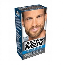 Just For Men gel Colorante Castaño Claro para bigote y barba 30ml