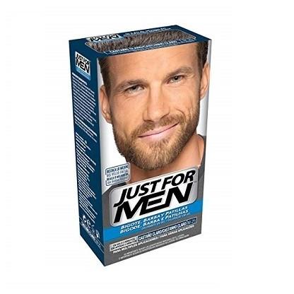 Just For Men gel Colorante Castaño Claro para bigote y barba 30ml