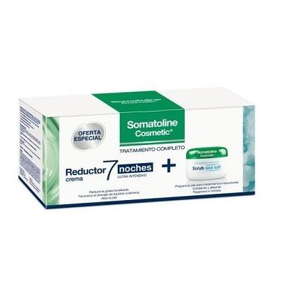 Somatoline Pack Crema 7 Noches 400ml + Exfoliante 350g