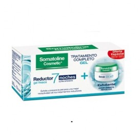 Somatoline Pack Gel 7 Noches 400ml + Exfoliante 350g